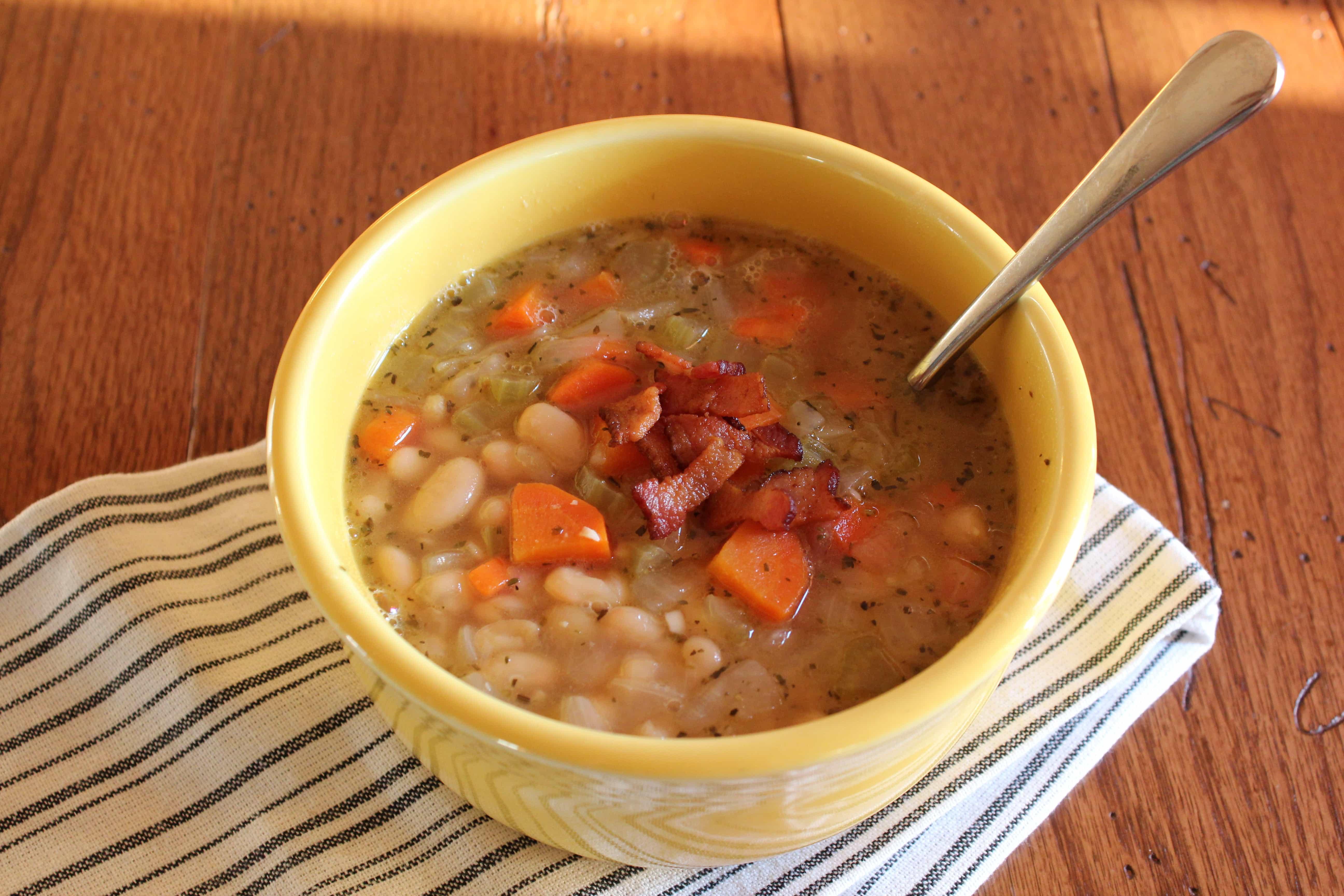 Rustic White Bean Soup