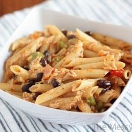 Cheesy Salsa Pasta-3864