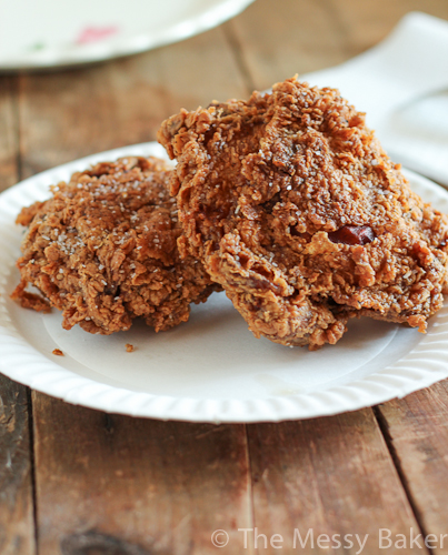 Extra Crispy Fried Chicken - One Sweet Mess