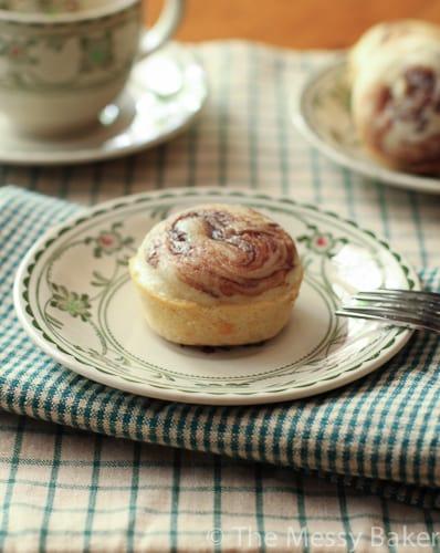 Nutella Swirl Donut Muffins