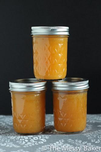 Peach Butter - One Sweet Mess
