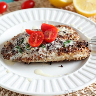 Hazelnut Crusted Tilapia with Lemon Butter-4327