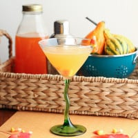 Candy Corn Martini {themessybakerblog.com}-5091