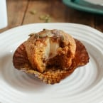Stuffed Pumpkin Muffin {themessybakerblog.com}-5150