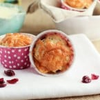 Cheddar Herb Cranberry Muffins {www.themessybakerblog.com}-5305