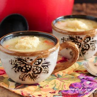 Chicken Soup with Dumplings {www.themessybakerblog.com}-4988