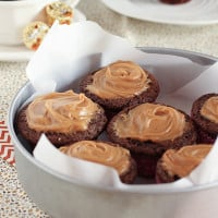 Peanut Butter Cup Stuffed Chocolate Muffins-5801