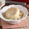 Chicken & Biscuit Pot Pie Casserole {www.themessybakerblog.com}-5452