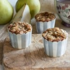 Pear & Cinnamon Muffins {www.themessybakerblog.com}-6259
