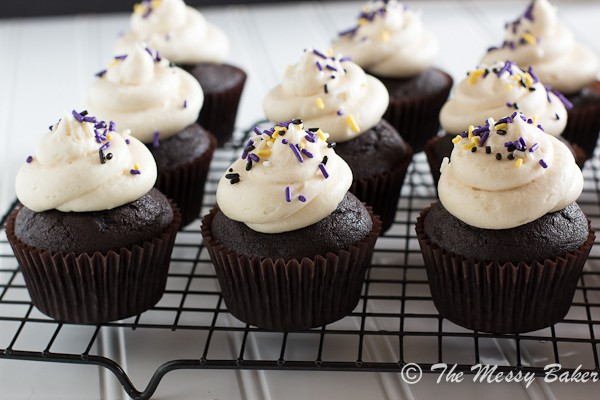 Bailey's Irish Cream Cupcakes {www.themessybakerblog.com}-6285