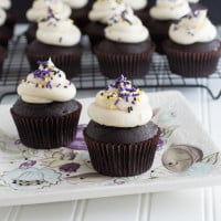 Bailey's Irish Cream Cupcakes {www.themessybakerblog.com}-6307