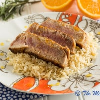Honey & Orange Glazed Ahi Tuna-6329