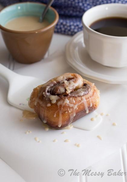 Nutella & Toasted Pecan Sweet Rolls | www.themessybakerblog.com-6520
