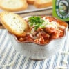 Slow Cooker Pizza Dip | www.themessybakerblog.com