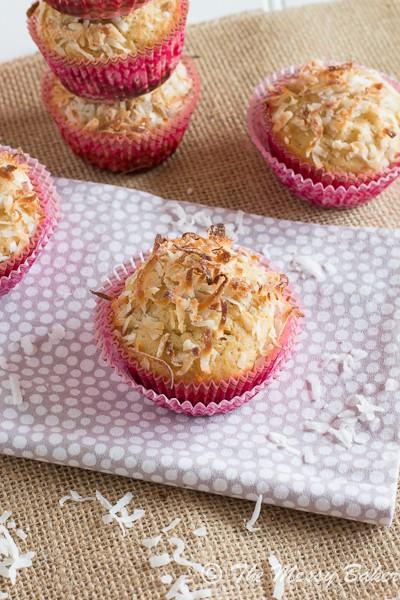 Pina Colada Muffins | www.themessybakerblog.com-6579