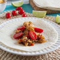 Smoky Chicken Chipotle Tacos | www.themessybakerblog.com-6797