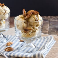 Brown Butter Butterscotch Pecan Ice Cream | www.themessybakerblog.com -6618