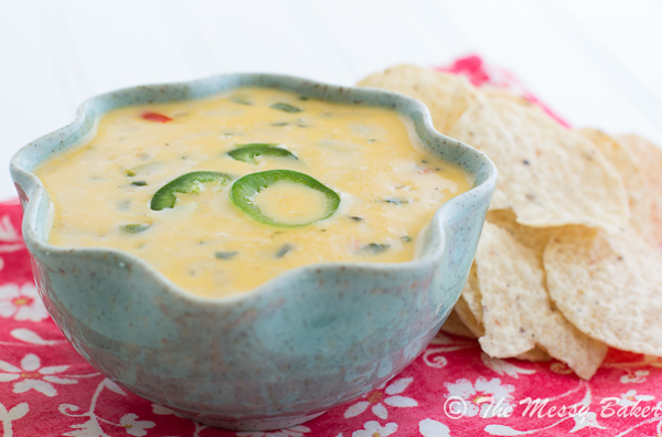 Spicy Queso Blanco | www.themessybakerblog.com -7086