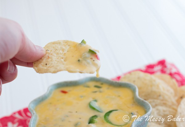Spicy Queso Blanco | www.themessybakerblog.com -7088