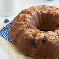 Blueberry Coconut Bundt | www.themessybakerblog.com-7142