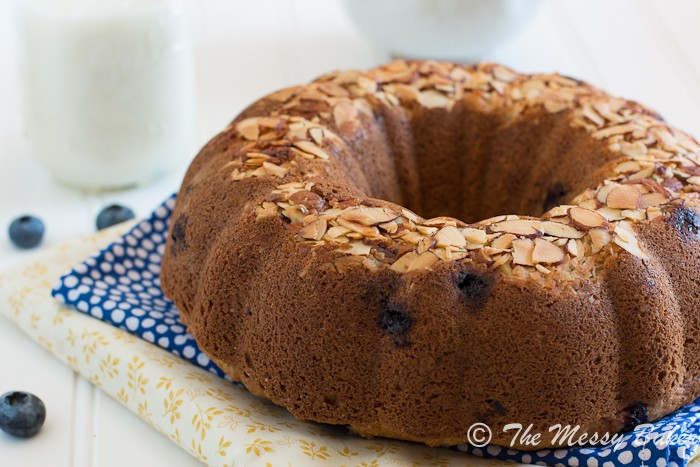 Blueberry Coconut Bundt | www.themessybakerblog.com-7143