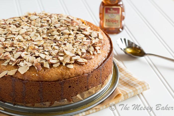 Orange Honey Tea Cake | www.themessybakerblog.com-7206