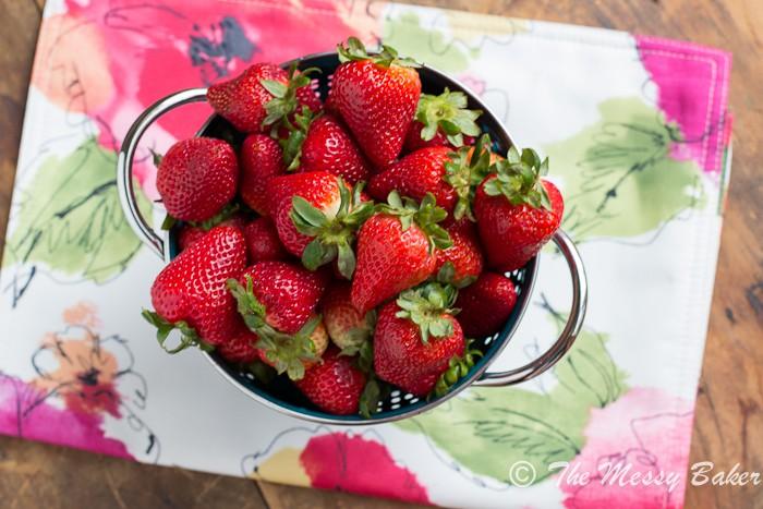 Strawberry Basil Lemonade   www.themessybakerblog.com -7282