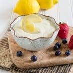 Gluten-Free Lemonade Dip | www.themessybakerblog.com -7421