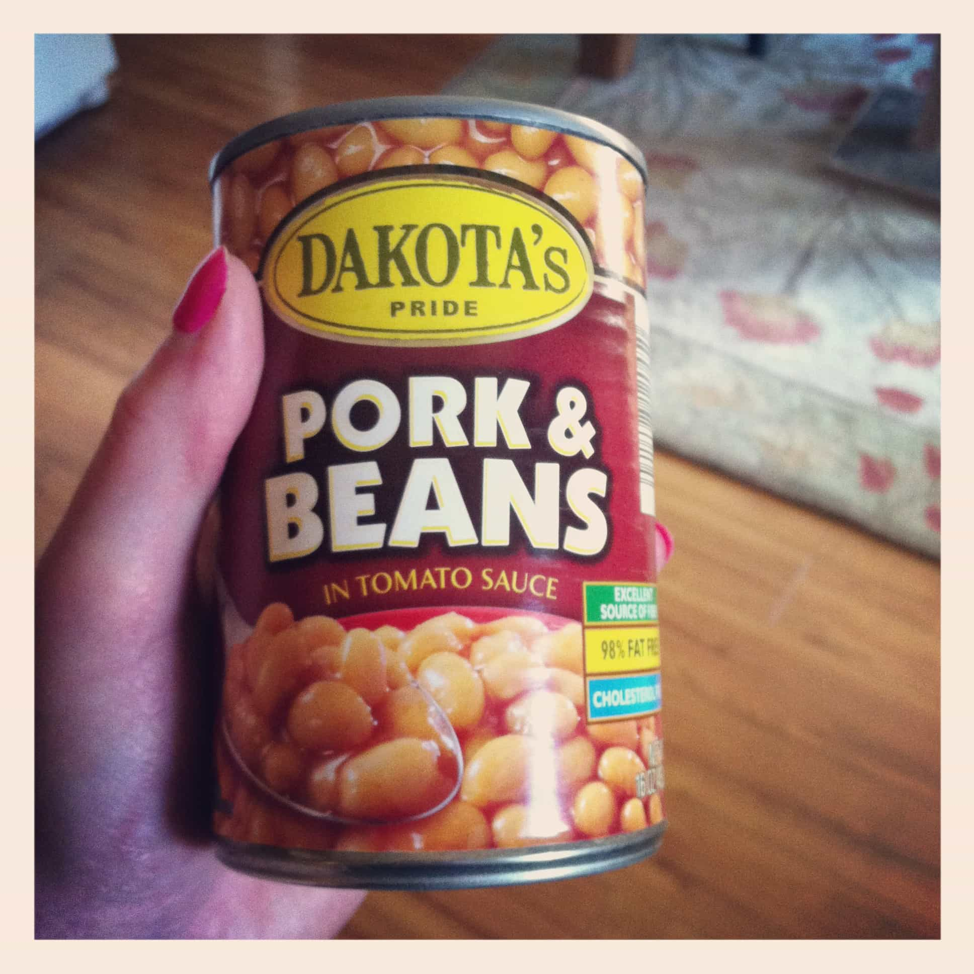 These spicy baked beans are inspired by the pioneer woman the idea to