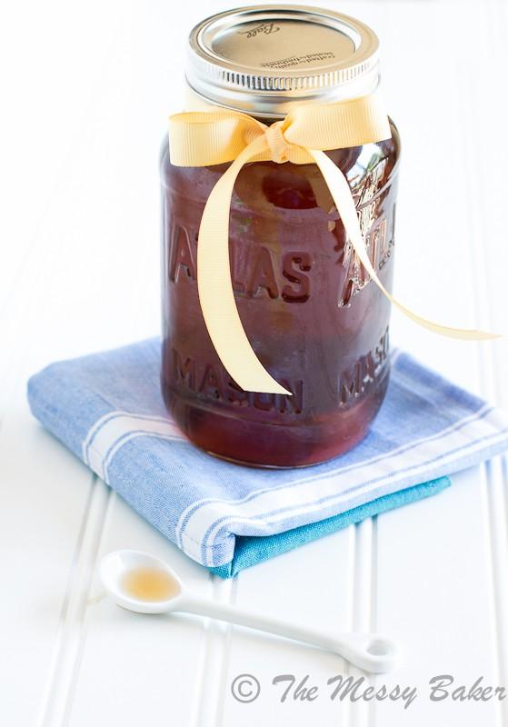 Vanilla Coffee Syrup | www.themessybakerblog.com-7648