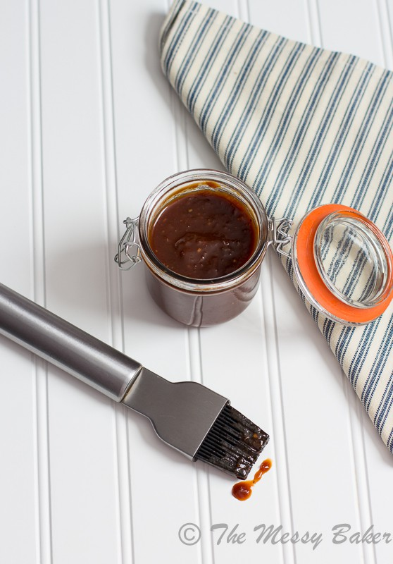 Guinness Barbecue Sauce | www.themessybakerblog.com -7836