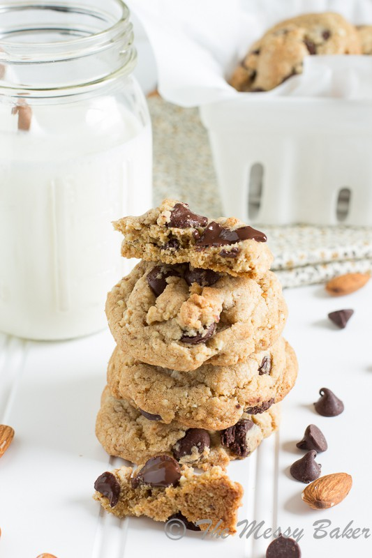 Healthier Choco Chip Cookies-7954