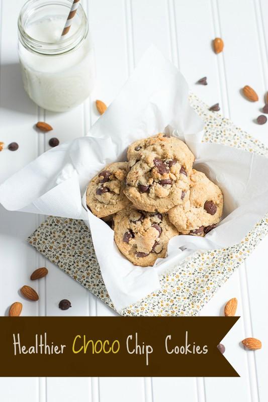 Healthier Choco Chip Cookies
