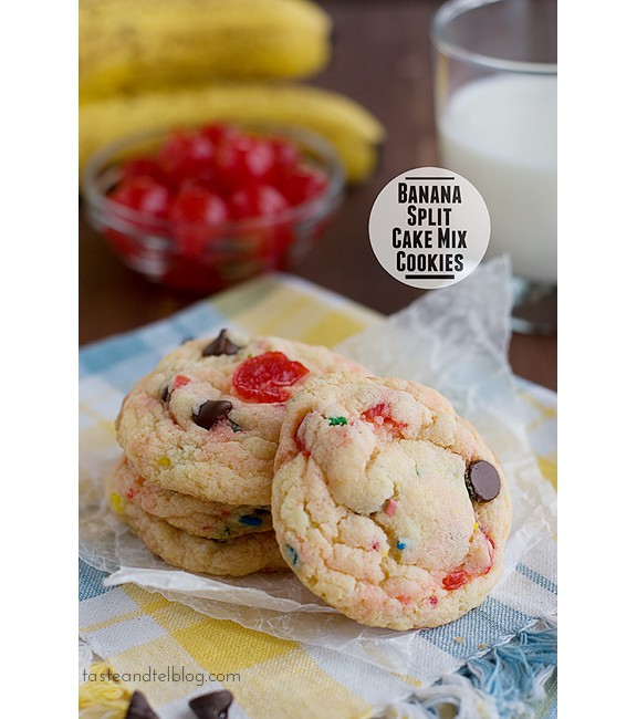 Banana-Split-Cake-Mix-Cookies-recipe-taste-and-tell-1