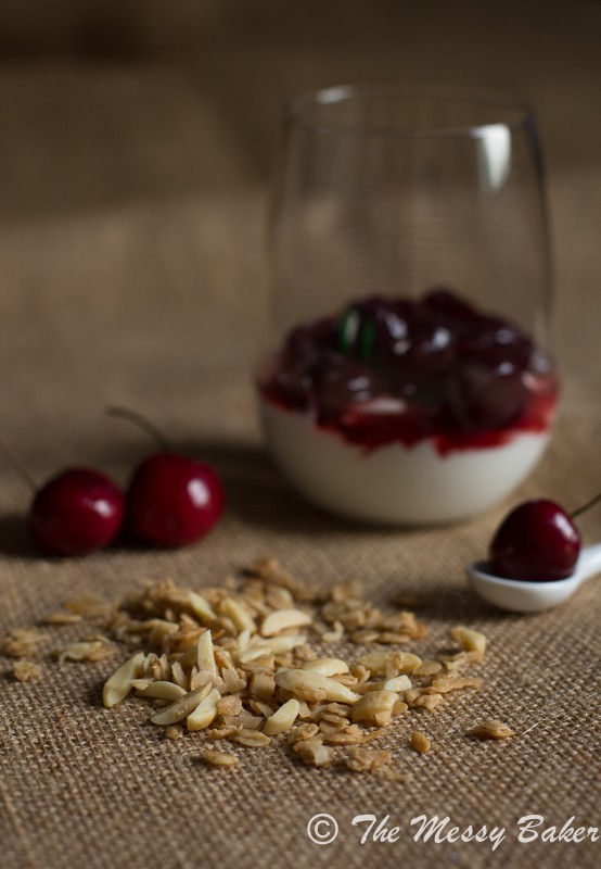 Cherry & Granola Parfaits | www.themessybakerblog.com-8050