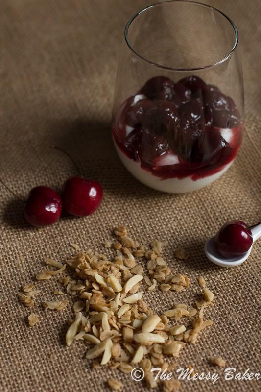 Cherry & Granola Parfaits | www.themessybakerblog.com-8051