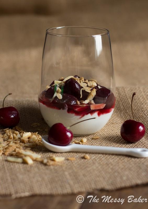 Cherry & Granola Parfaits | www.themessybakerblog.com-8058