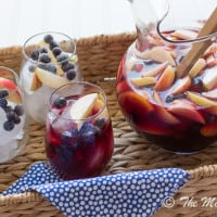 Wicked Blueberry Pomegranate Sangria | www.themessybakerblog.com-8805