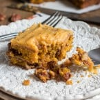 Pumpkin Caramel Pecan cake with Pumpkin Buttercream Frosting-8928