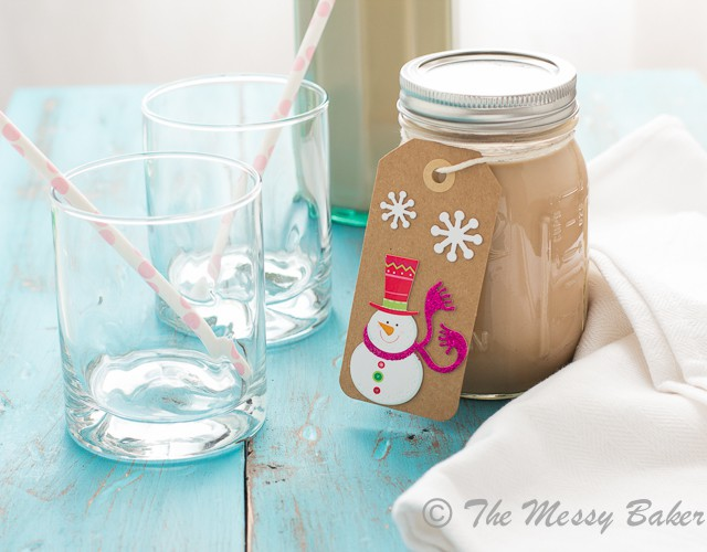 Homemade Caramel Bailey's Irish Cream from www.themessybakerblog.com