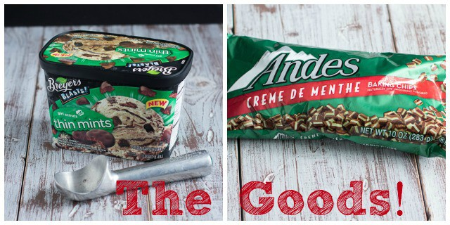 Thin Mint Ice Cream Pie from www.themessybakerblog.com
