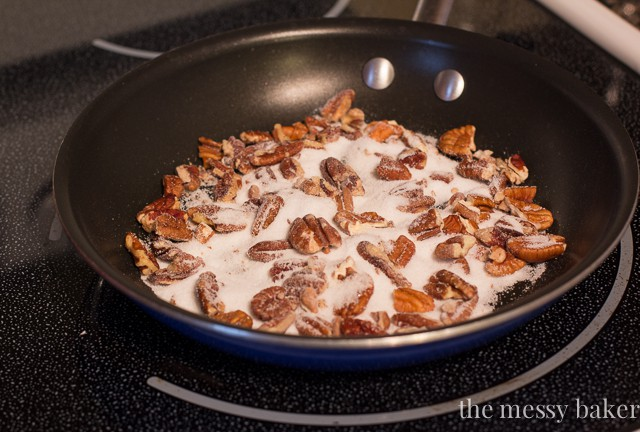 How To: Make Candied Nuts from www.themessybakerblog.com