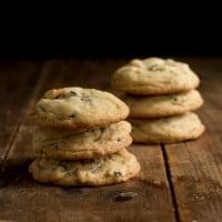 Soft Batch Triple Chocolate Cookies | www.themessybakerblog.com