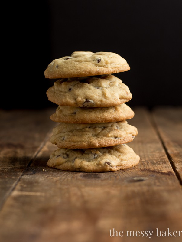 One Bowl Chocolate Chip Cookies | www.themessybakerblog.com