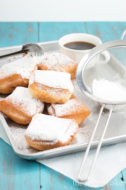 Buttermilk Beignets | www.themessybakerblog.com