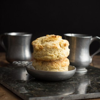 Mile-High Buttermilk Biscuits {A Tutorial}   www.themessybakerblog.com