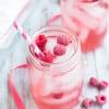 Raspberry Moscato Sangria | www.themessybakerblog.com