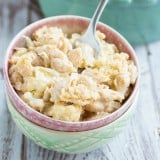 Roasted Cauliflower Mac & Cheese | www.themessybakerblog.com