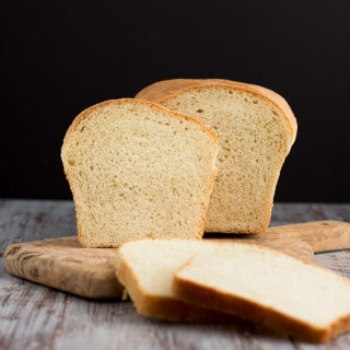 Simple White Bread | www.themessybakerblog.com