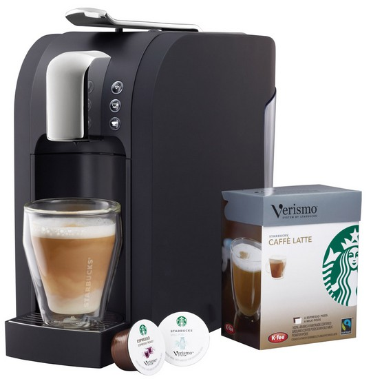 Starbucks Verismo Brewer Review & Giveaway - One Sweet Mess